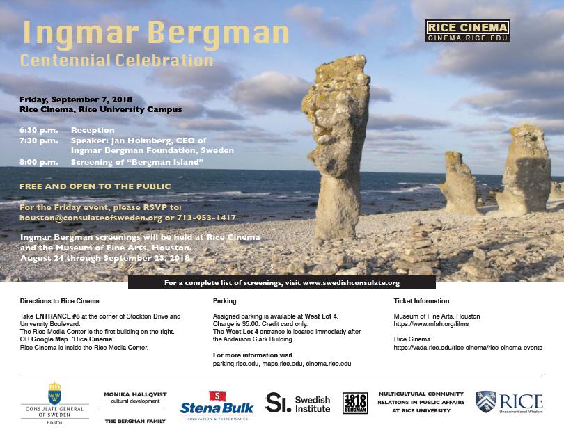 Ingmar Bergman Centennial